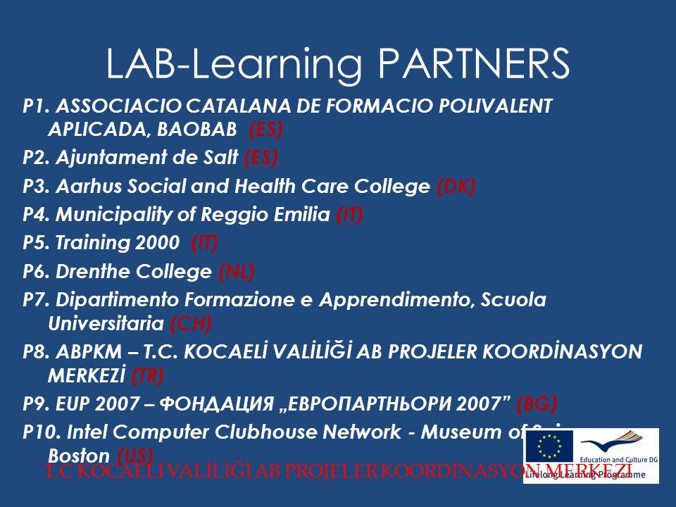 LAB-Learning PARTNERS P1. ASSOCIACIO CATALANA DE FORMACIO POLIVALENT APLICADA, BAOBAB (ES) P2.