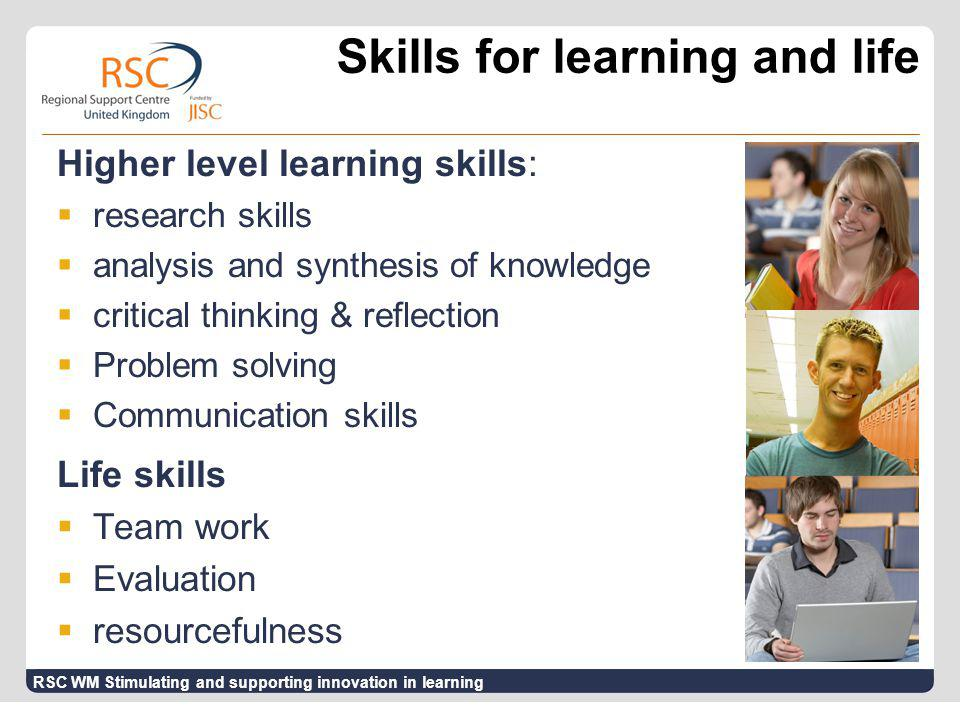 Quality in Assessment  Engages students with the assessment criteria  Supports personalised learning  Ensures feedback leads to improvement  Focuses on student development  Stimulates dialogue  Considers staff and tutor effort ESCAPE Project - quality in learning from assessment practices RSC WM Stimulating and supporting innovation in learning