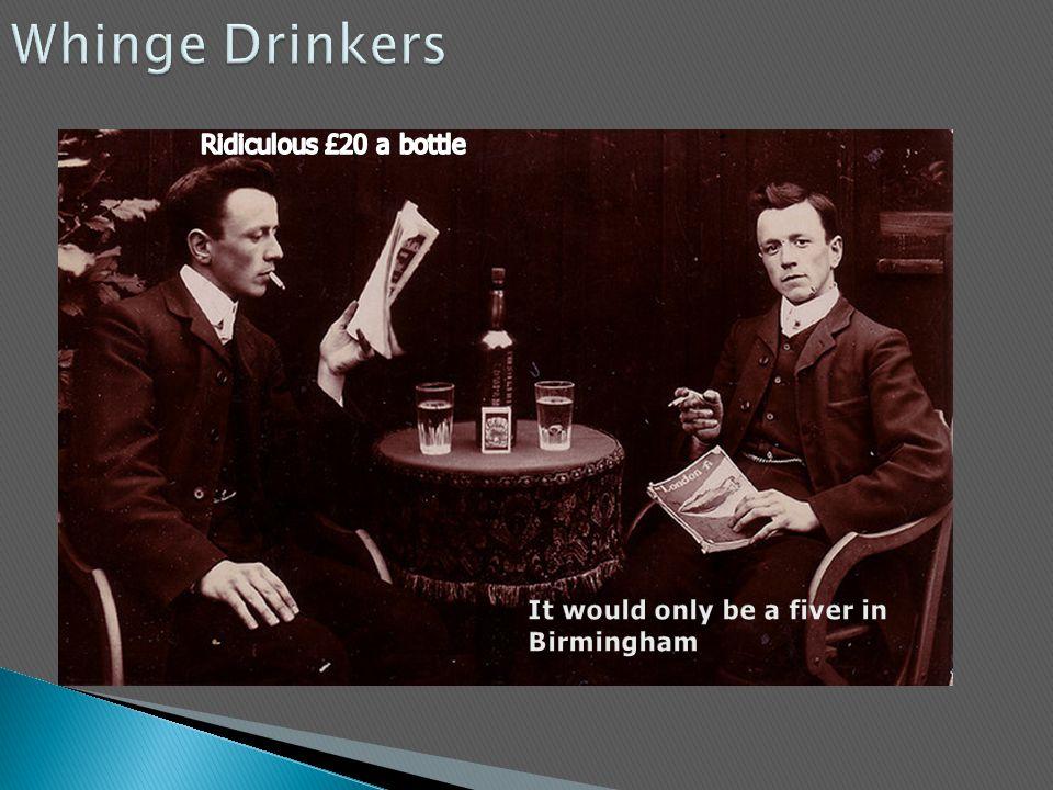 Whinge Drinkers