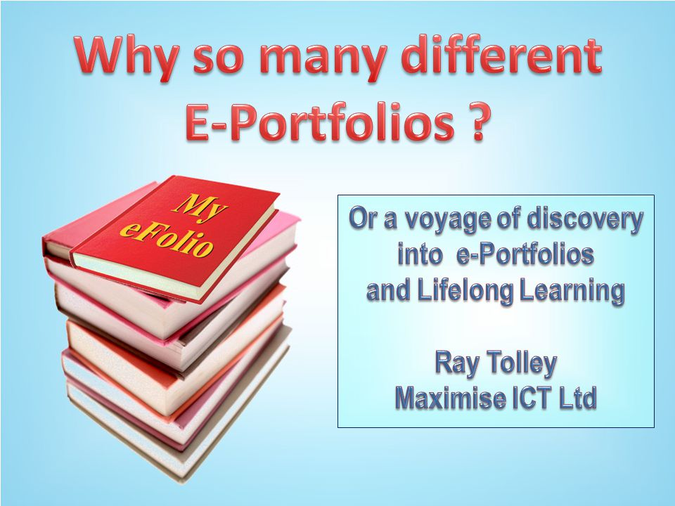 Old university styles  Use of the e-Portfolio for content delivery only,  Traditional didactic styles often decades old,  Failure to invest in imaginative resources,  Limited to internal use eg for PDP,  Lack of understanding of how e-portfolios can be used for Lifelong, Lifewide Learning.