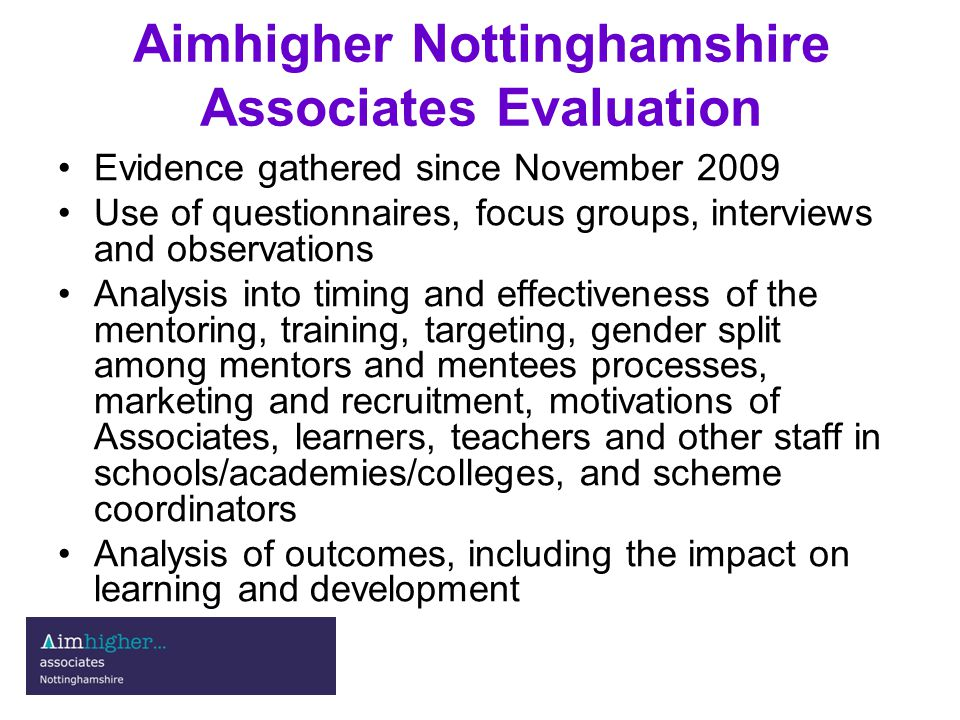 Teacher judgements I have spoken to many of the students involved and can report a virtually unanimous appreciation of the scheme.