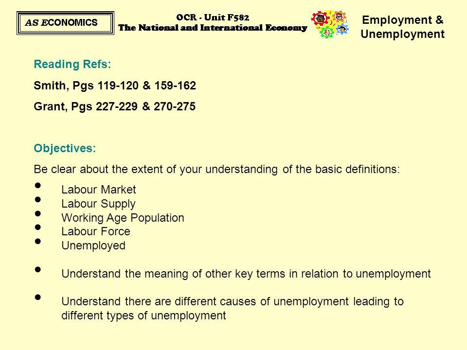 Employment & Unemployment http://www.google.c o.uk/search?hl=en& q=unemployment+v ideos&metahttp://www.google.c o.uk/search?hl=en& q=unemployment+v ideos&meta=