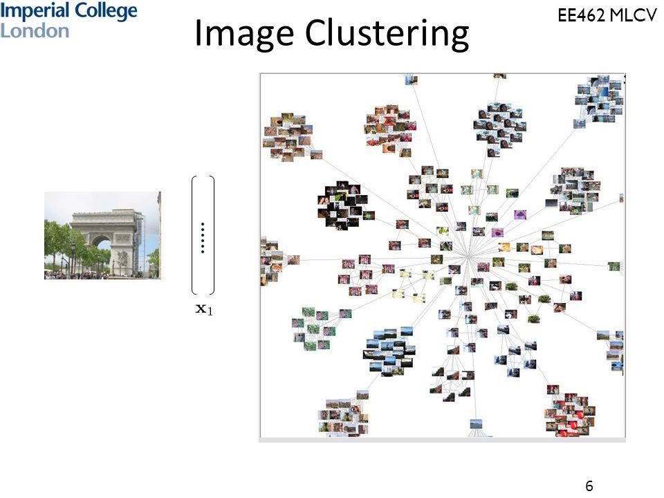 EE462 MLCV 6 …… Image Clustering