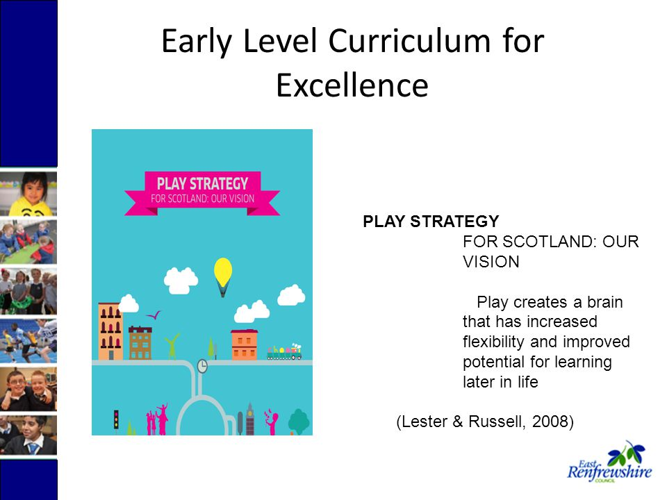 Our children in Nursery are working at Early Level in all areas of Curriculum for Excellence.