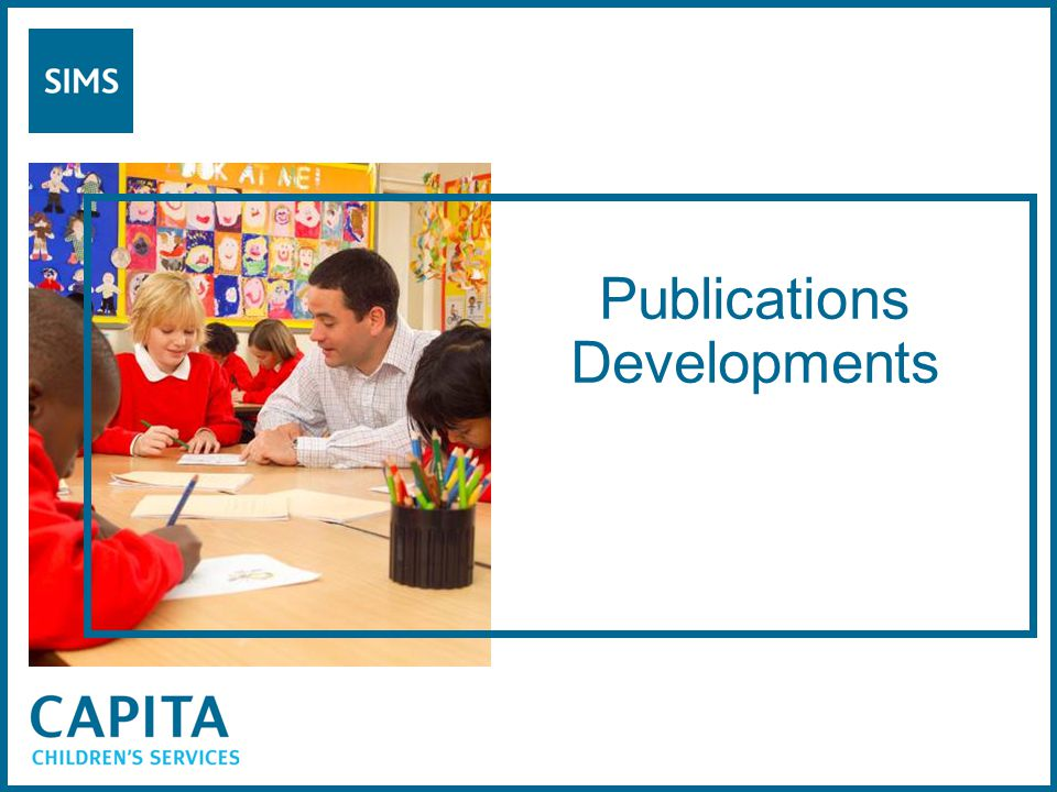 Publications Developments