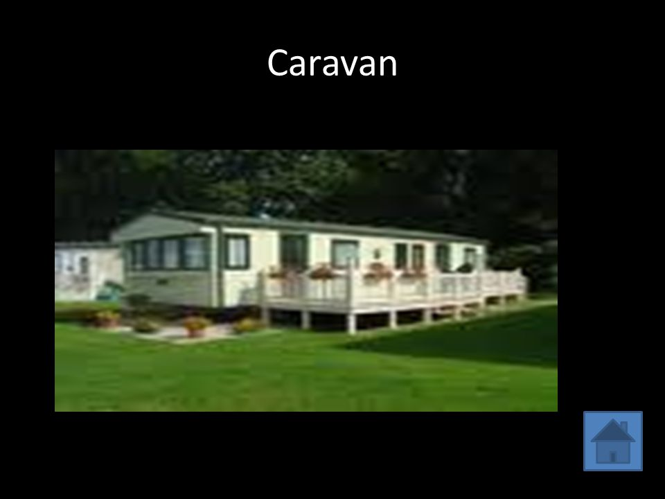 This is my caravan. My bedroomMing and John's room Kitchen Living room Bathroom O utside of caravan