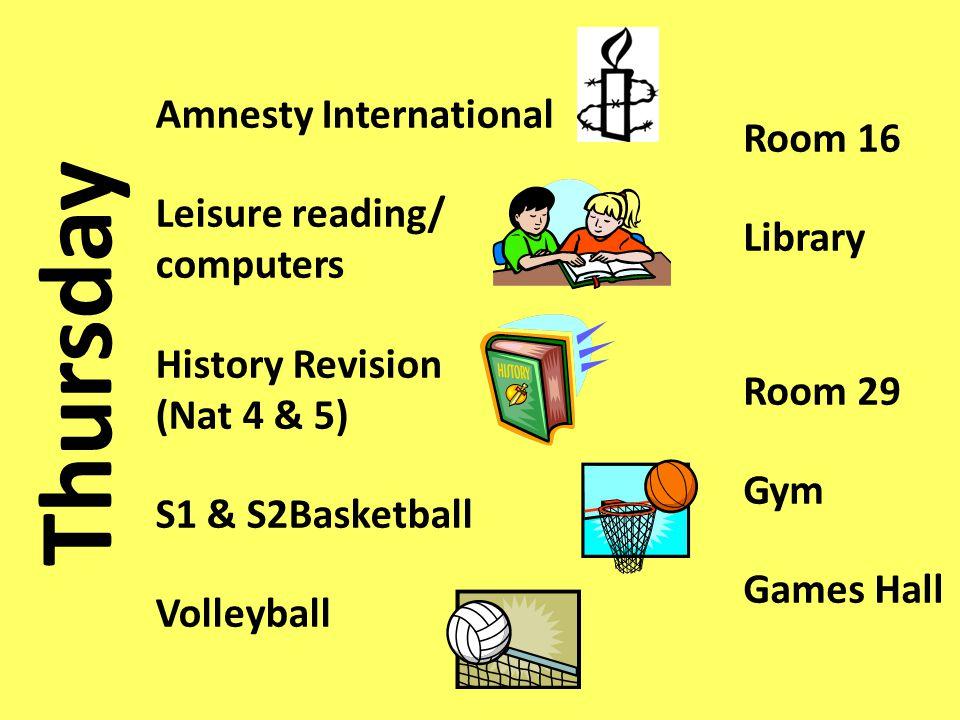 Friday Eco Group Dodgeball S2/3 Basketball Rooms 43 & 46 Gym Games Hall