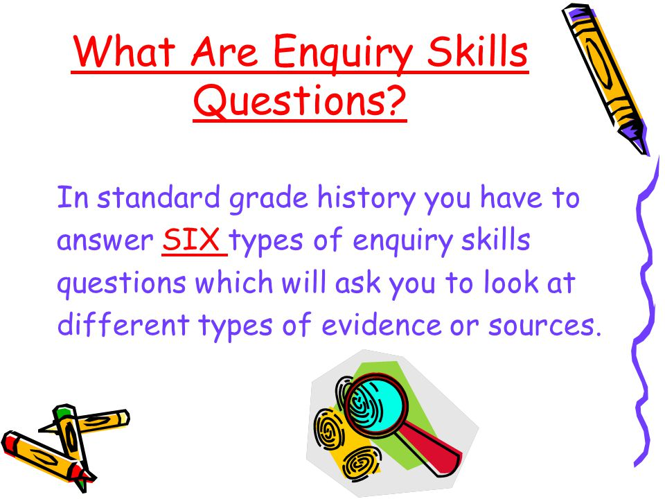 Types of Questions ES1- How useful/valuable/reliable is a Source.