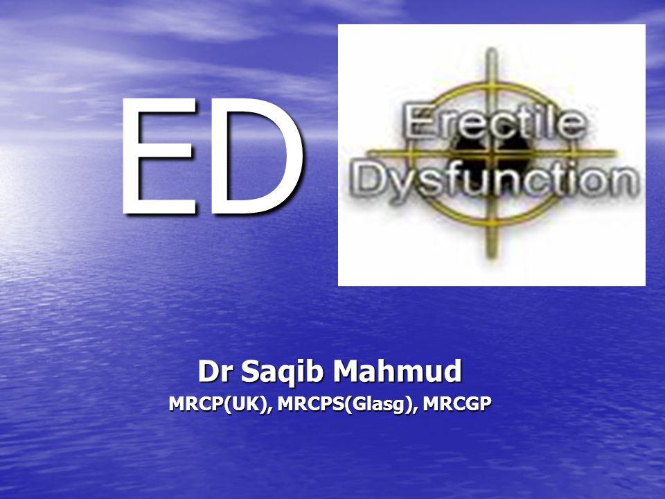 ED Dr Saqib Mahmud MRCP(UK), MRCPS(Glasg), MRCGP