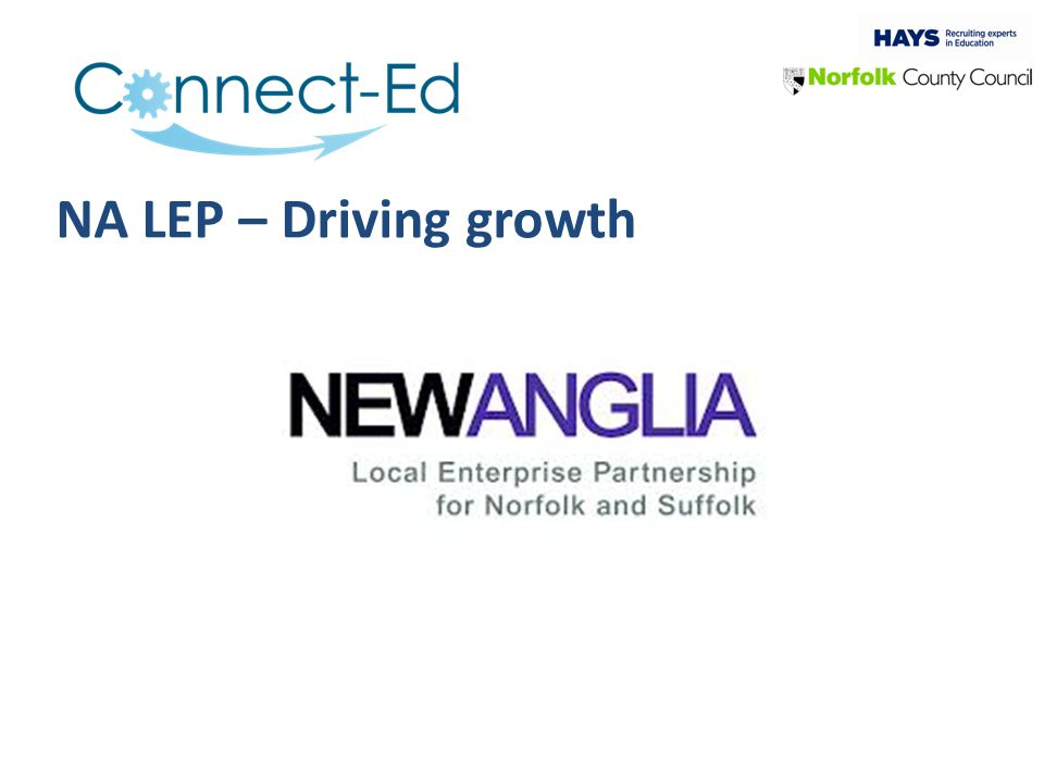 NA LEP – Driving growth