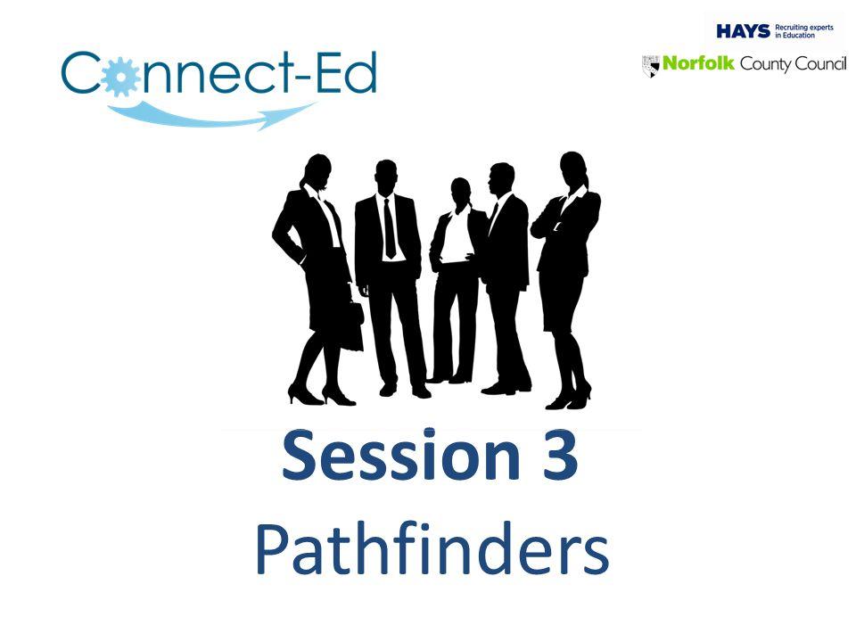 Session 3 Pathfinders
