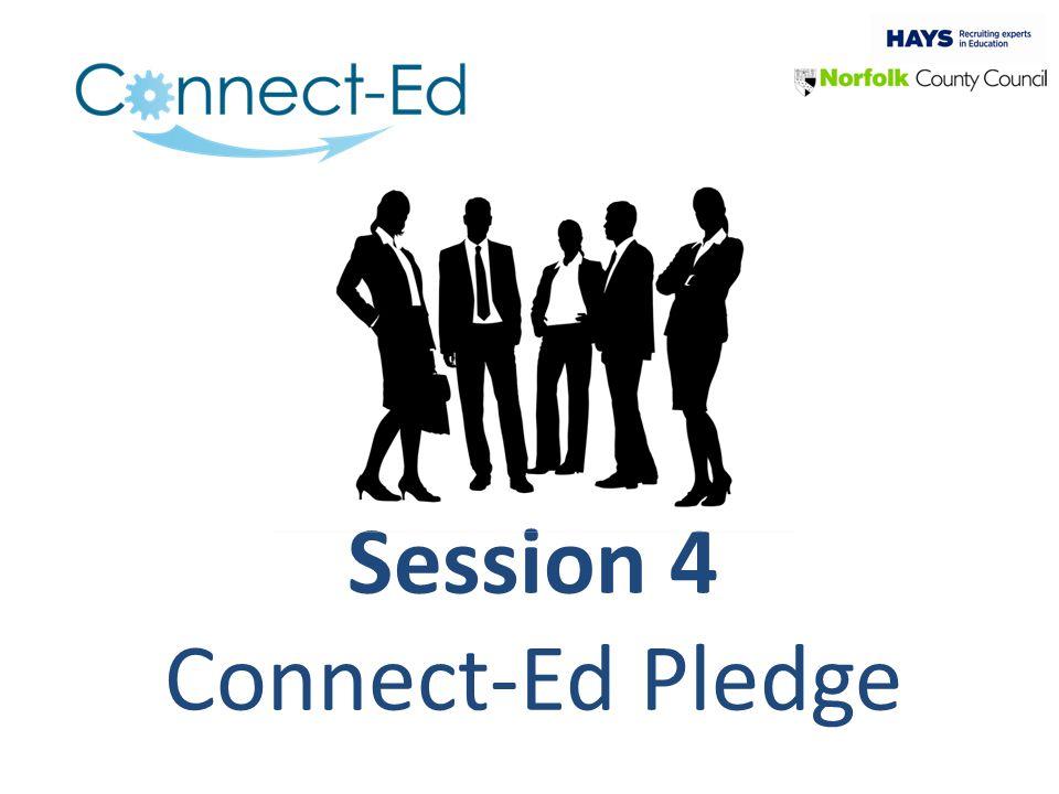 Session 4 Connect-Ed Pledge