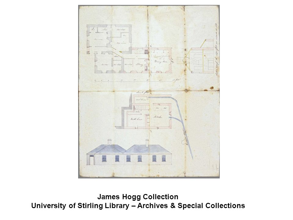 James Hogg Collection University of Stirling Library – Archives & Special Collections