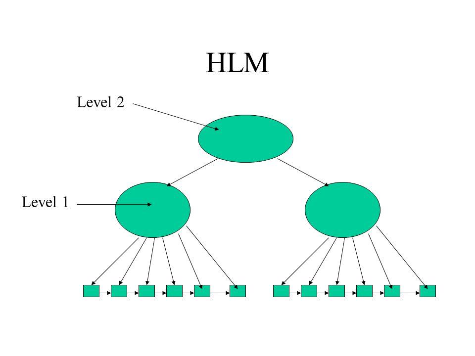 HLM Level 2 Level 1