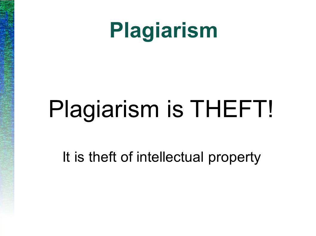 Plagiarism Plagiarism is the use of other people s ideas without due acknowledgment.