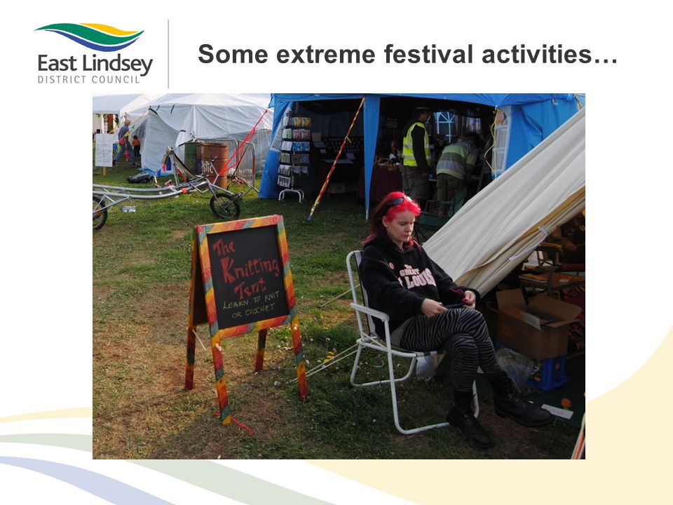 Some extreme festival activities…