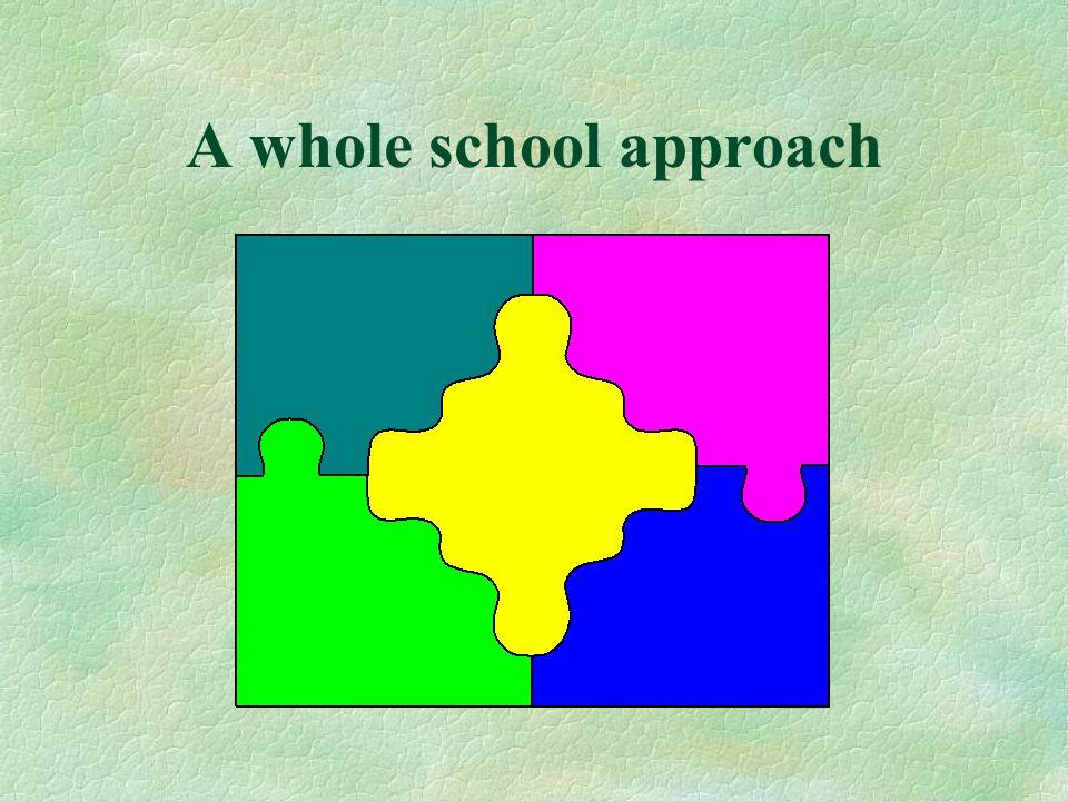 A whole school approach