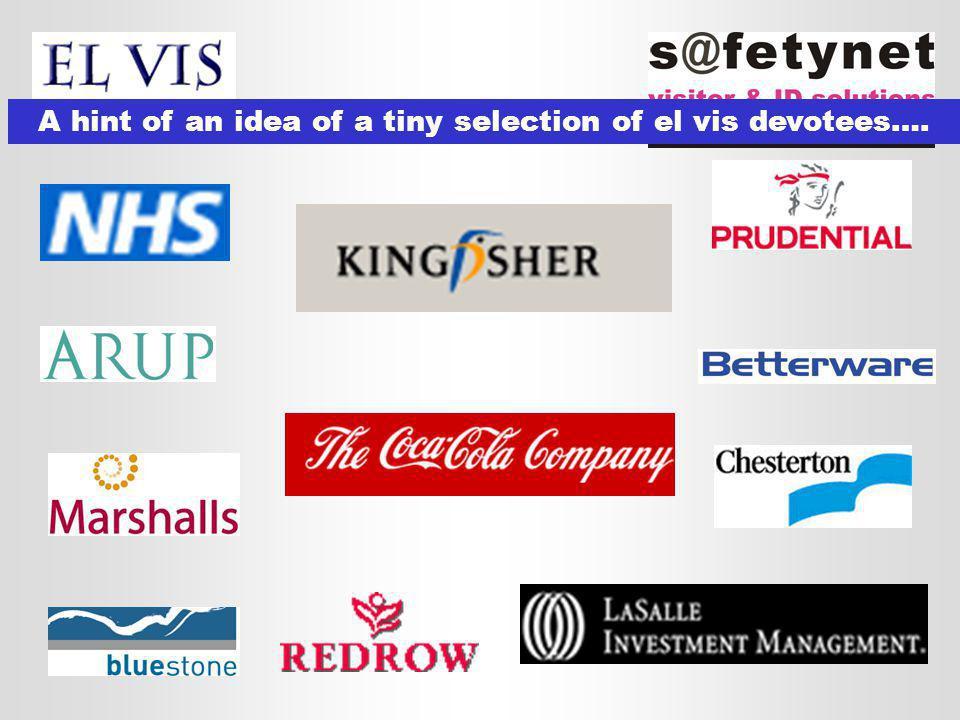 A hint of an idea of a tiny selection of el vis devotees….