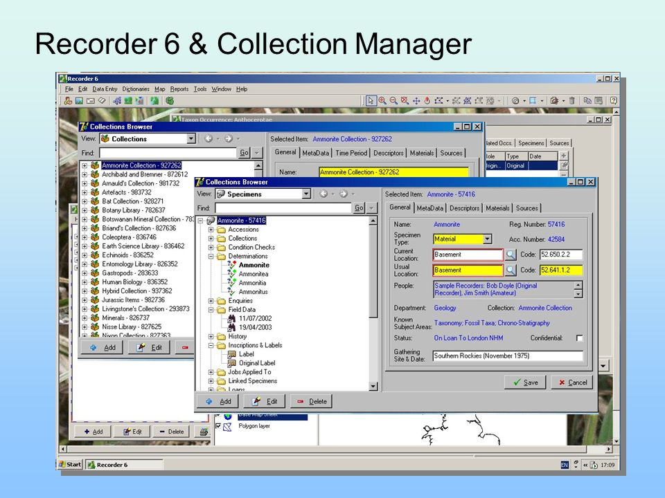 Recorder 6 & Collection Manager