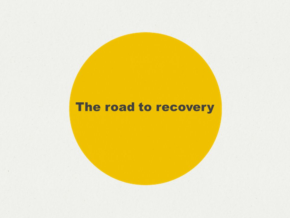 Never mind the theory, what did we actually do? The road to recovery