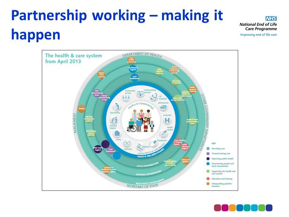 Partnership working – making it happen
