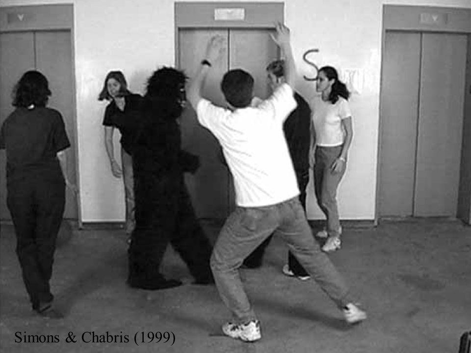 ∂ 16 Simons & Chabris (1999)