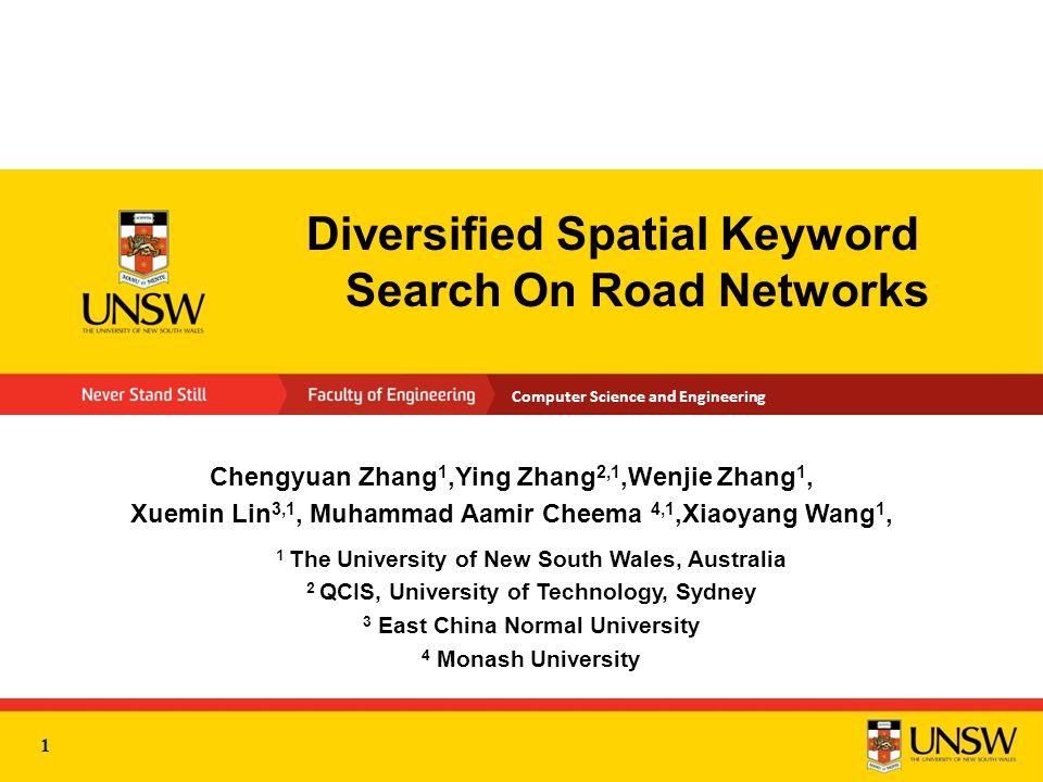 2 Outline  Motivation  Problem Statement  SK Search on Road Network  Diversified SK search on Road Network  Experiments  Conclusion 2