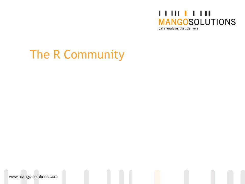 The R Community