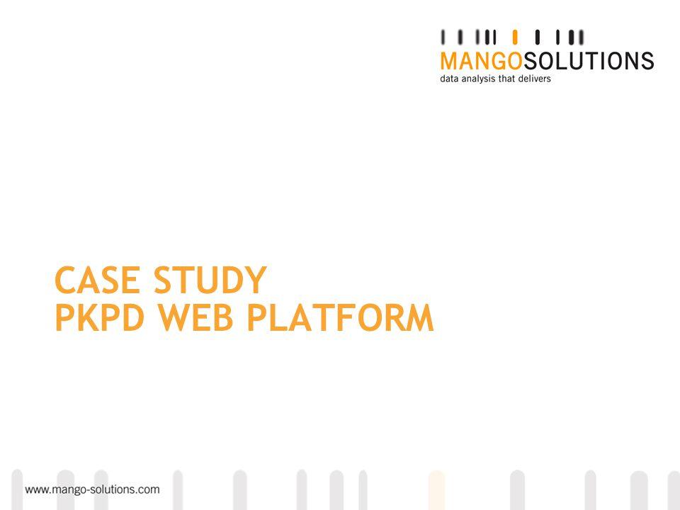 CASE STUDY PKPD WEB PLATFORM