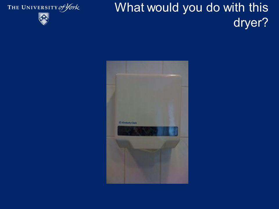 What would you do with this dryer