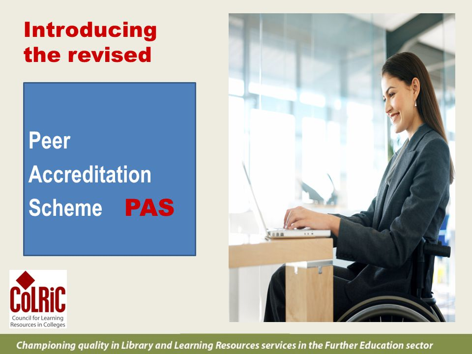 What is the Peer Accreditation Scheme.