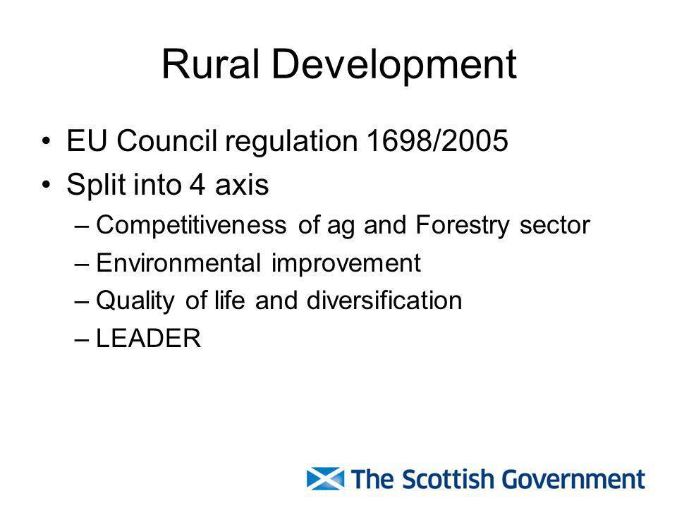 Rural Priorities Measures one of the key funding mechanisms within SRDP.