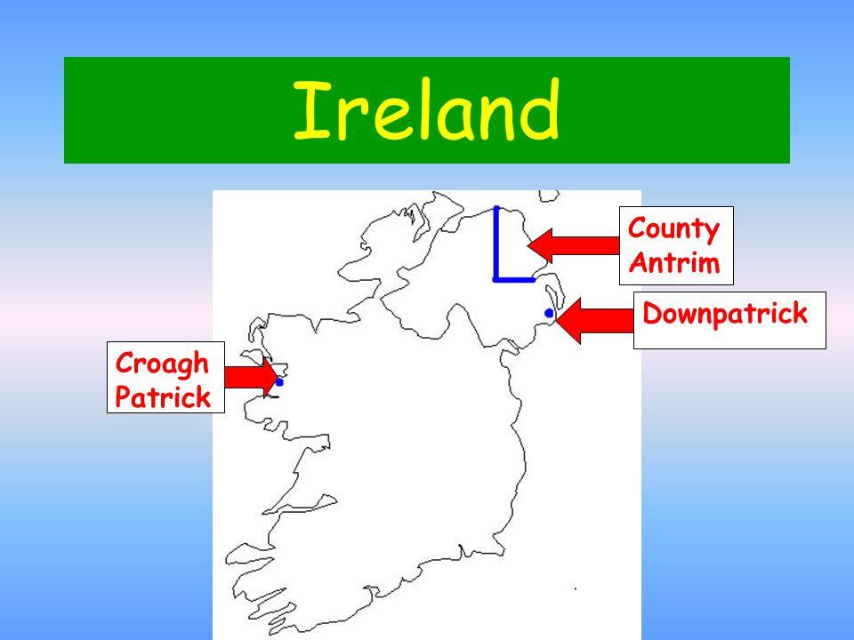 Ireland Downpatrick County Antrim Croagh Patrick