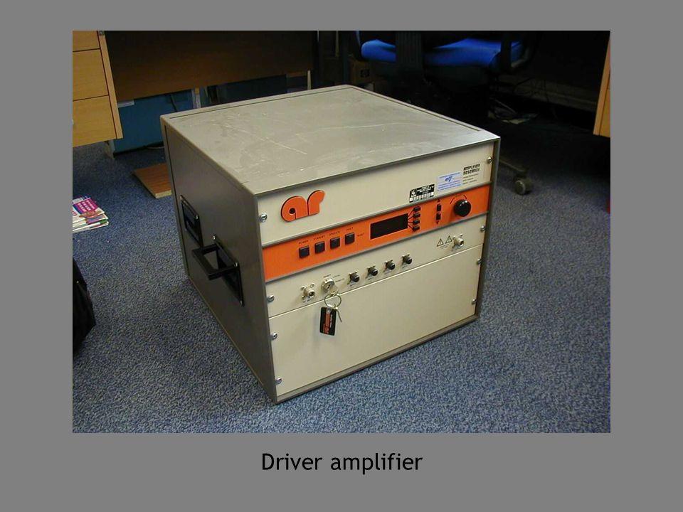 Driver amplifier