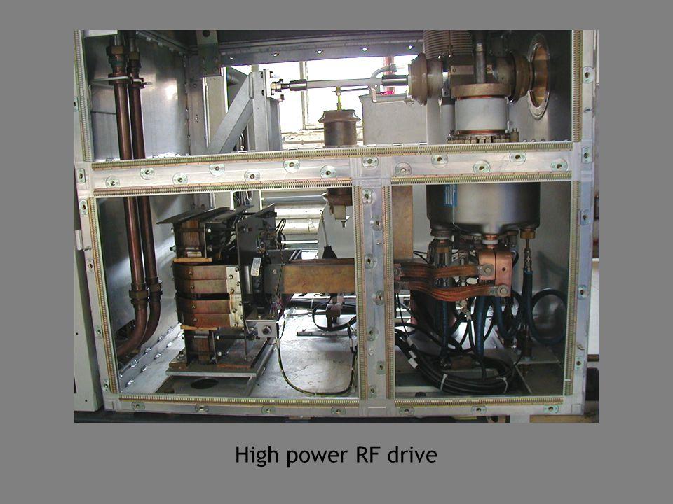 High power RF drive