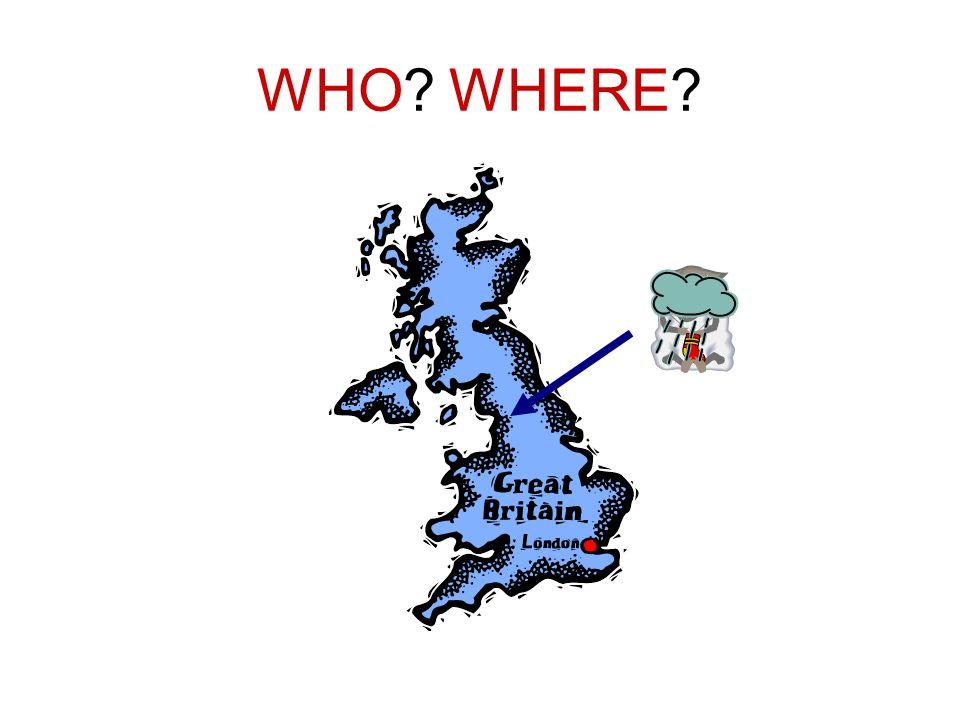 WHO WHERE