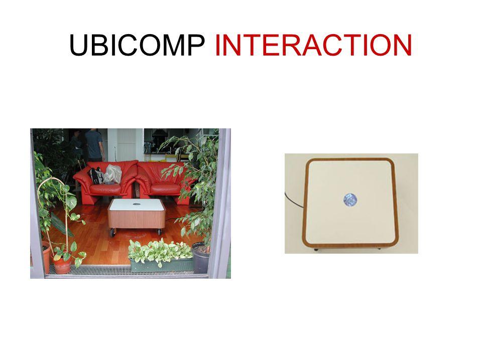 UBICOMP INTERACTION