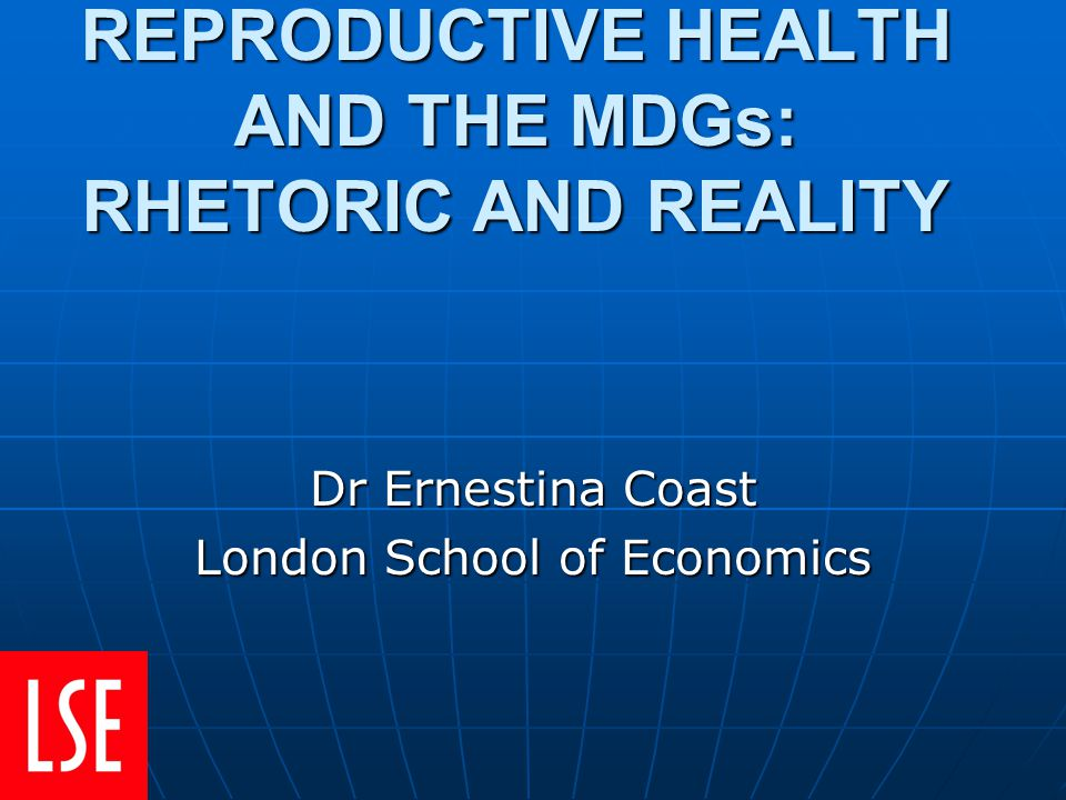 1. Historical setting 2. What are sexual ands reproductive health and rights (SRHR)? 3. SRHR & MDGs