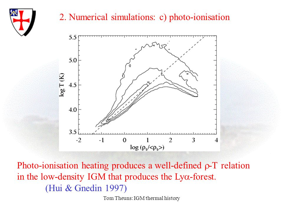 Tom Theuns: IGM thermal history 2.