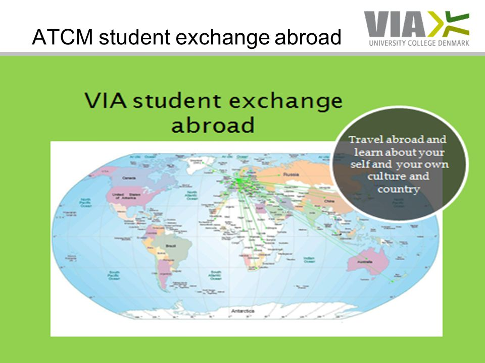 ATCM student exchange abroad