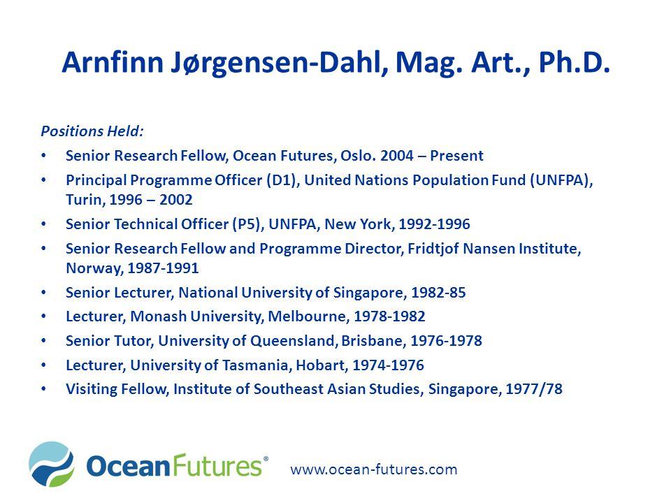 Arnfinn Jørgensen-Dahl, Mag.Art., Ph.D.