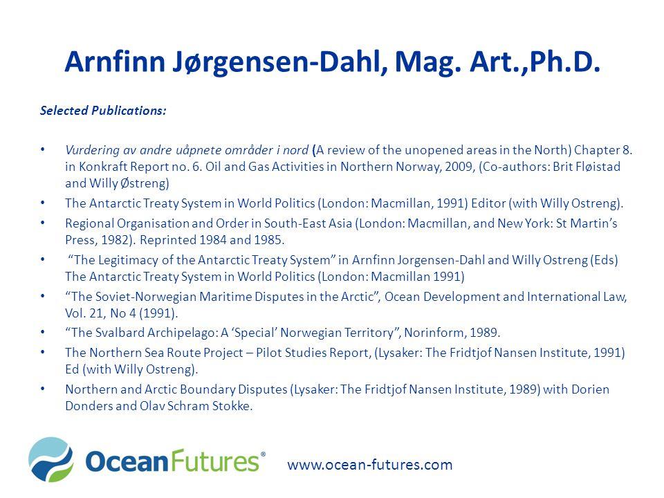 Arnfinn Jørgensen-Dahl, Mag.Art.,Ph.D.