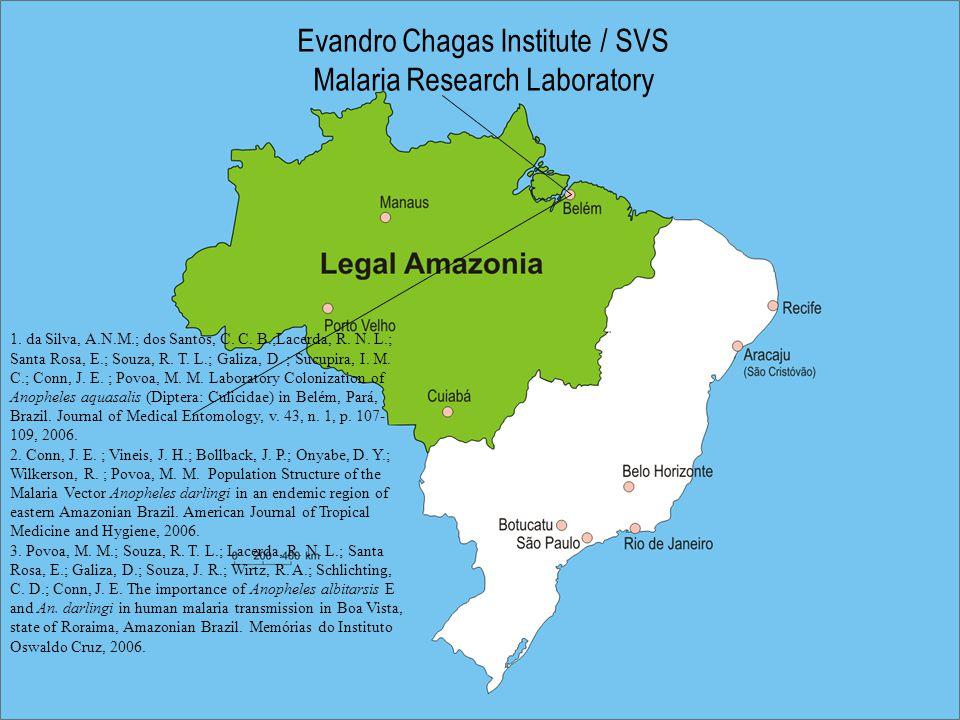 Evandro Chagas Institute / SVS Malaria Research Laboratory 1.