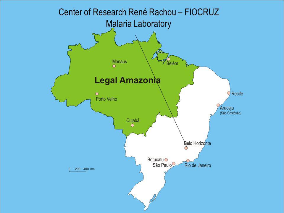 Center of Research René Rachou – FIOCRUZ Malaria Laboratory