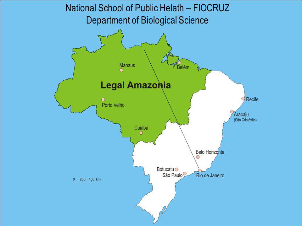 National School of Public Helath – FIOCRUZ Department of Biological Science