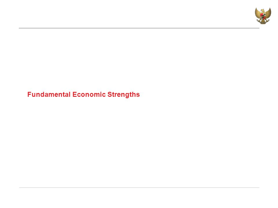 Fundamental Economic Strengths