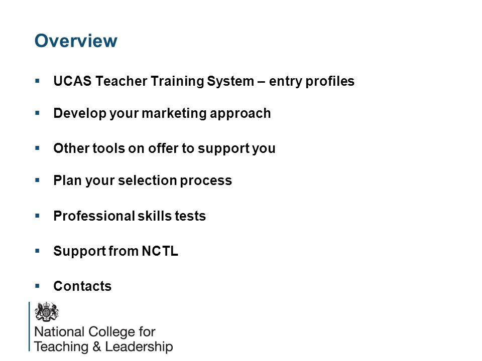 UCAS Teacher Training  UCAS opened to applicants on 21 November and it is mandatory for all schools to use the system.