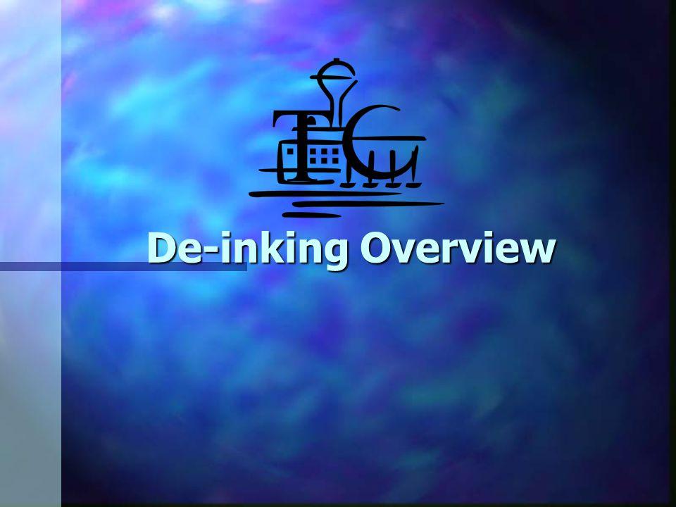De-inking Overview