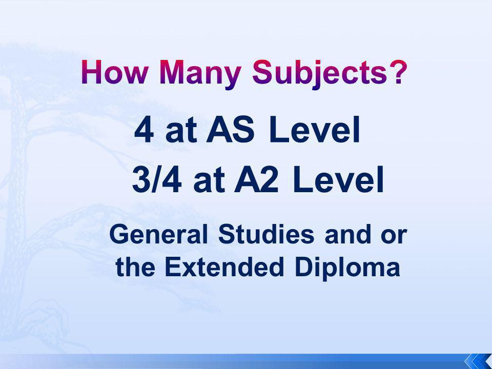 Students need to gain at five A*-C grades at GCSE including English, and Mathematics………..