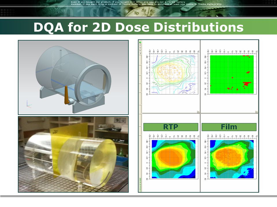 DQA for 2D Dose Distributions RTPFilm